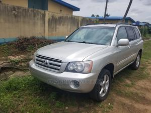 Toyota Highlander 2003 V6 AWD Silver | Cars for sale in Lagos State, Ikeja