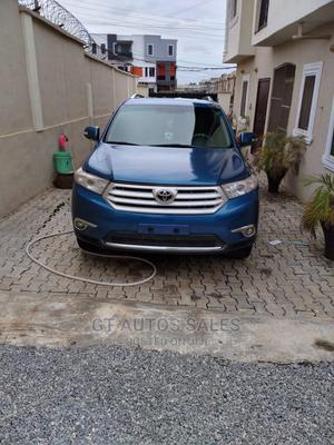 Toyota Highlander 2009 Blue | Cars for sale in Lagos State, Ojodu