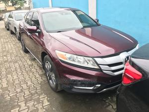 Honda Accord Crosstour 2013 EX-L W/Navigation AWD Red | Cars for sale in Lagos State, Ikeja