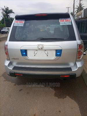Honda Pilot 2007 EX 4x4 (3.5L 6cyl 5A) Silver | Cars for sale in Lagos State, Ikorodu