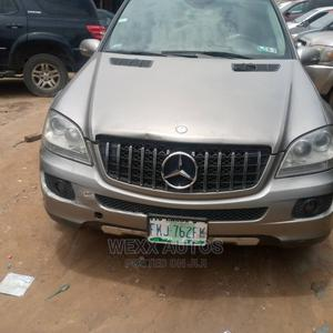 Mercedes-Benz M Class 2007 ML 350 4Matic Gray   Cars for sale in Rivers State, Port-Harcourt