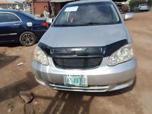 Toyota Corolla 2003 Sedan Automatic Silver | Cars for sale in Ogun State, Abeokuta South