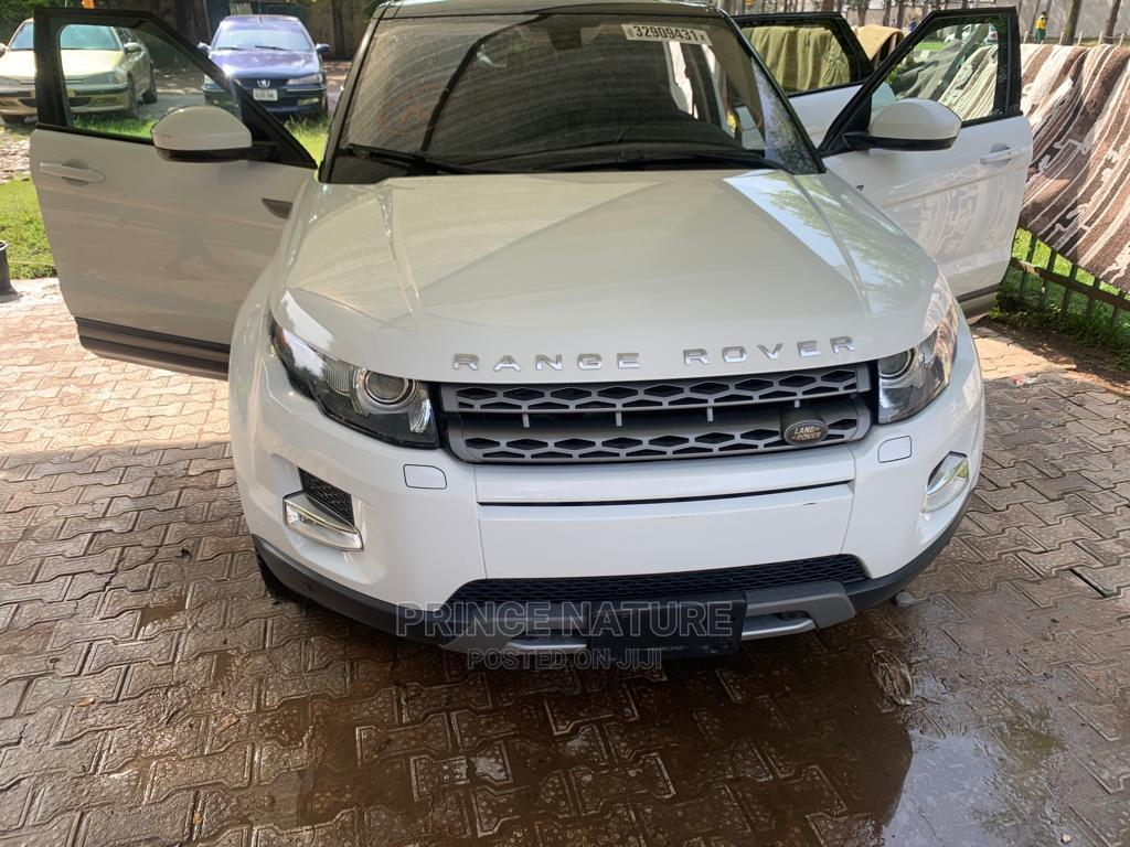 Land Rover Range Rover Evoque 2015 White | Cars for sale in Garki 2, Abuja (FCT) State, Nigeria