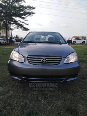 Toyota Corolla 2003 Sedan Automatic Gray   Cars for sale in Lagos State, Lekki