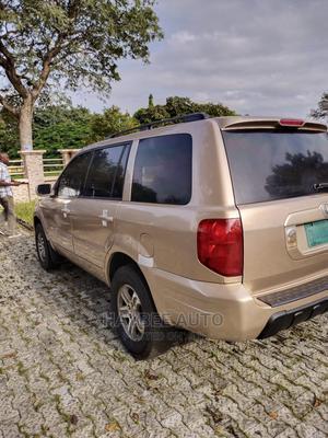 Honda Pilot 2004 EX 4x4 (3.5L 6cyl 5A) Gold   Cars for sale in Kwara State, Ilorin West