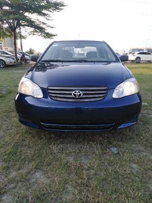 Toyota Corolla 2004 Sedan Automatic Blue | Cars for sale in Lagos State, Lekki