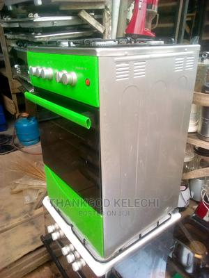 Maxi 4 Burner Standing Gas Cooker With Oven.   Kitchen Appliances for sale in Lagos State, Ojo