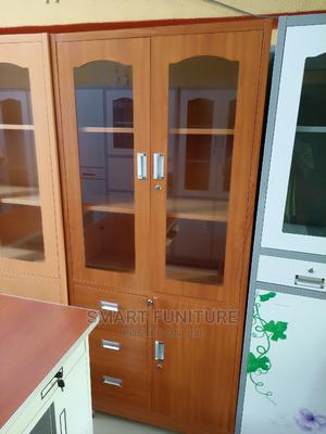 Imported Half Glass Metal Cabinet   Furniture for sale in Lagos State, Yaba