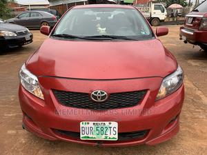 Toyota Corolla 2010 Red   Cars for sale in Delta State, Oshimili South