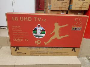 Lg 55 Inches Smart 4k Tv   TV & DVD Equipment for sale in Lagos State, Ojota