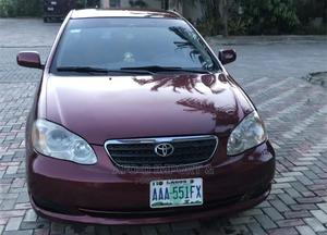 Toyota Corolla 2007 1.6 VVT-i Red   Cars for sale in Lagos State, Lekki