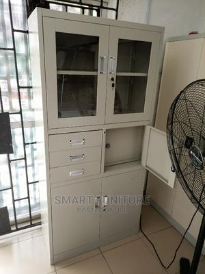 Strong Metal Cabinet With Safe | Furniture for sale in Lagos State, Ikeja