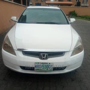 Honda Accord 2003 White | Cars for sale in Lagos State, Ikeja