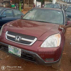 Honda CR-V 2002 EX 4WD Automatic Red | Cars for sale in Oyo State, Ibadan