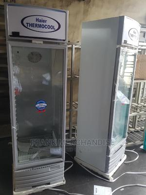 Haier THERMOCOOL Showcases Glass 100%Copper 2 Years Warranty | Store Equipment for sale in Lagos State, Amuwo-Odofin