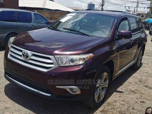 Toyota Highlander 2013 Limited 3.5l 4WD Red   Cars for sale in Lagos State, Ikeja