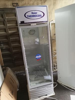 Haier THERMOCOOL Standing Showcase Glass 100%Copper | Store Equipment for sale in Lagos State, Amuwo-Odofin
