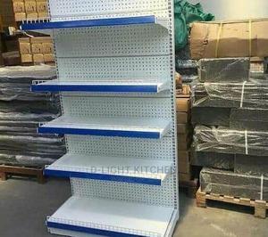 Blue Single Sided Supermarket Shelf | Restaurant & Catering Equipment for sale in Lagos State, Ikeja