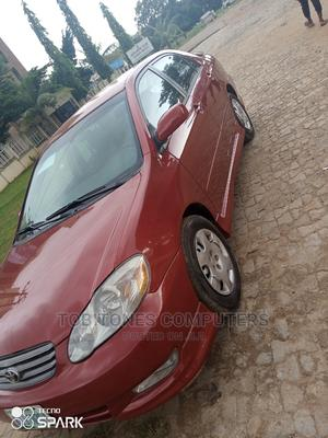 Toyota Corolla 2004 Red | Cars for sale in Abuja (FCT) State, Wuse