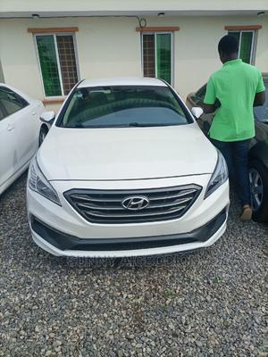 Hyundai Sonata 2016 White | Cars for sale in Lagos State, Abule Egba