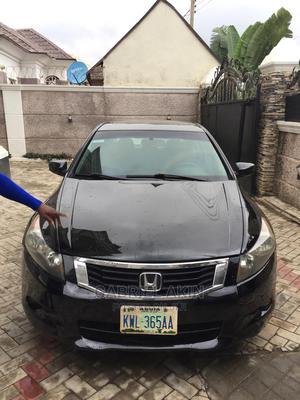 Honda Accord 2008 Black | Cars for sale in Abuja (FCT) State, Apo District