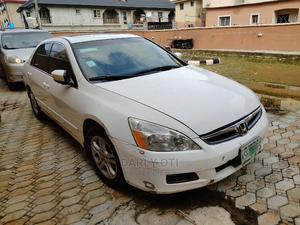 Honda Accord 2007 2.0 Comfort White | Cars for sale in Lagos State, Surulere