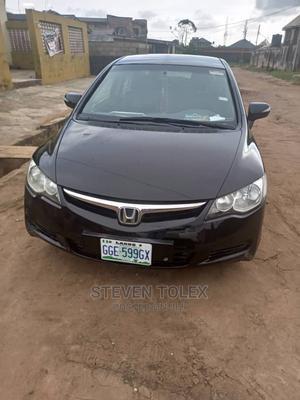 Honda Civic 2007 Black   Cars for sale in Lagos State, Ikotun/Igando