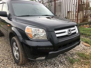 Honda Pilot 2007 EX-L 4x2 (3.5L 6cyl 5A) Black   Cars for sale in Abuja (FCT) State, Kubwa
