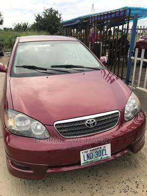 Toyota Corolla 2006 S Red | Cars for sale in Delta State, Warri