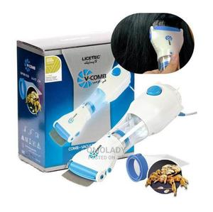 V-Comb Electric Head Lice Comb Removal Treatment   Hair Beauty for sale in Lagos State, Surulere