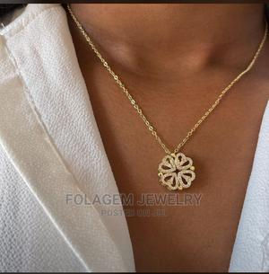 Zirconia Choker Adjustable Necklace | Jewelry for sale in Lagos State, Ikeja