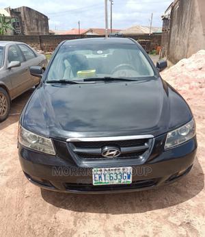 Hyundai Sonata 2007 Black | Cars for sale in Lagos State, Ojodu