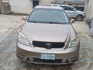 Toyota Matrix 2004 Brown | Cars for sale in Lagos State, Alimosho