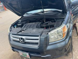 Honda Pilot 2007 EX-L 4x4 (3.5L 6cyl 5A) Gray   Cars for sale in Lagos State, Ikeja