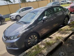 Honda Civic 2015 Gray   Cars for sale in Lagos State, Amuwo-Odofin