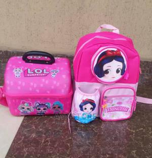 Children School Bag And Lunch Bag Combo   Babies & Kids Accessories for sale in Oyo State, Ibadan