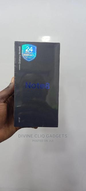 New Samsung Galaxy Note 8 64 GB Black   Mobile Phones for sale in Rivers State, Port-Harcourt