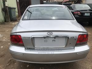 Hyundai Sonata 2004 2.4 CDX Silver   Cars for sale in Lagos State, Ikeja