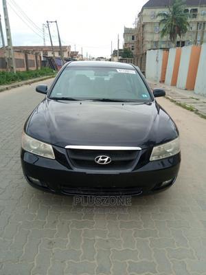 Hyundai Sonata 2008 3.3 V6 GLS Black   Cars for sale in Lagos State, Isolo
