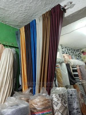 Good Quality Plain Curtain Materials   Home Accessories for sale in Lagos State, Ikotun/Igando