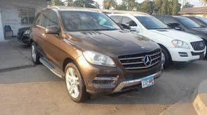 Mercedes-Benz M Class 2013 ML 350 4Matic Brown   Cars for sale in Lagos State, Apapa