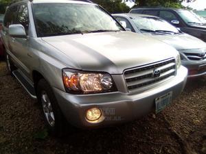Toyota Highlander 2003 V6 AWD Silver | Cars for sale in Abuja (FCT) State, Gwarinpa
