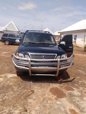 Lexus LX 2007 470 Sport Utility Black   Cars for sale in Benue State, Makurdi