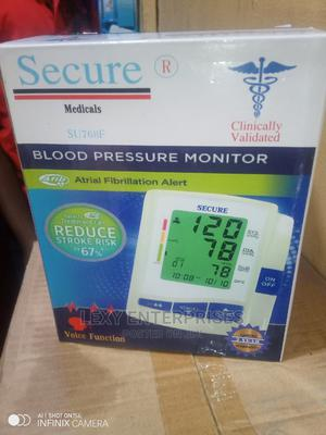 Bp Monitor With Memory and Voice Function   Medical Supplies & Equipment for sale in Lagos State, Abule Egba