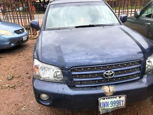 Toyota Highlander 2005 Blue   Cars for sale in Anambra State, Onitsha