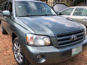 Toyota Highlander 2005 Limited V6 Green   Cars for sale in Anambra State, Onitsha
