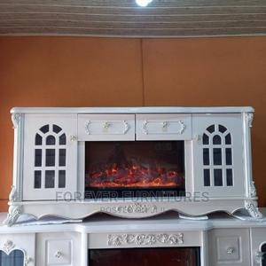 Imported Fire Television Stand/Bench   Furniture for sale in Rivers State, Port-Harcourt