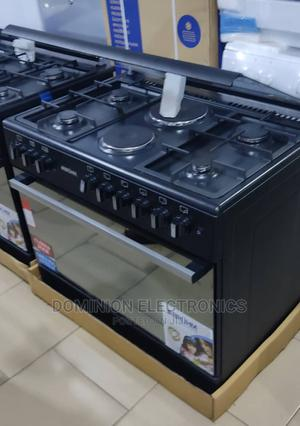 BRUHM 90×60 (4+2) Gas Electric Oven Grill Auto Ignition   Kitchen Appliances for sale in Lagos State, Ojo