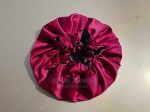 Reversible Ruffled Satin Hair Bonnet | Hair Beauty for sale in Abuja (FCT) State, Galadimawa