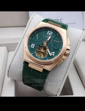 IWC Genuine Leather Wrist Watch High Quality Affordable | Watches for sale in Lagos State, Lagos Island (Eko)